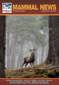 Mammal News-Autumn-2019